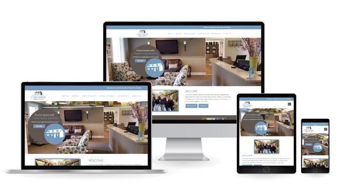 story city dentistry web design