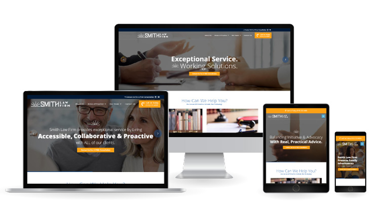 Smith Law Firm Responsive Web Design