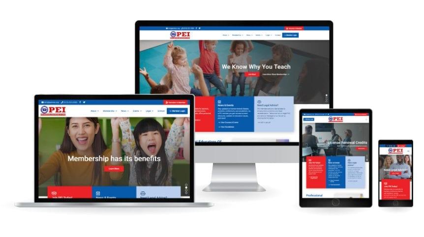 Professional Educators of Iowa New Website