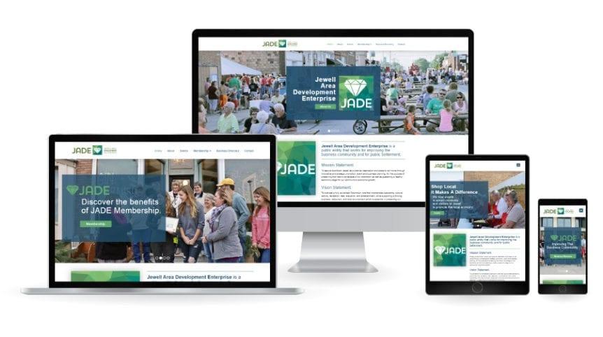 JADE responsive websites
