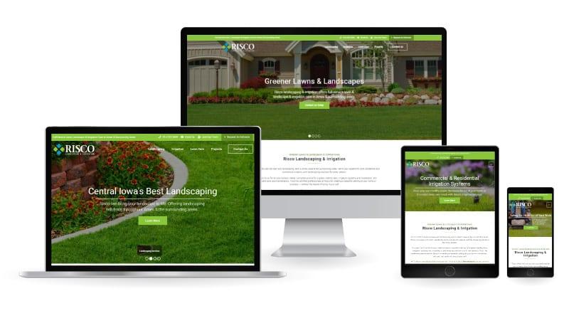 Risco landsca[ing & irrigation website