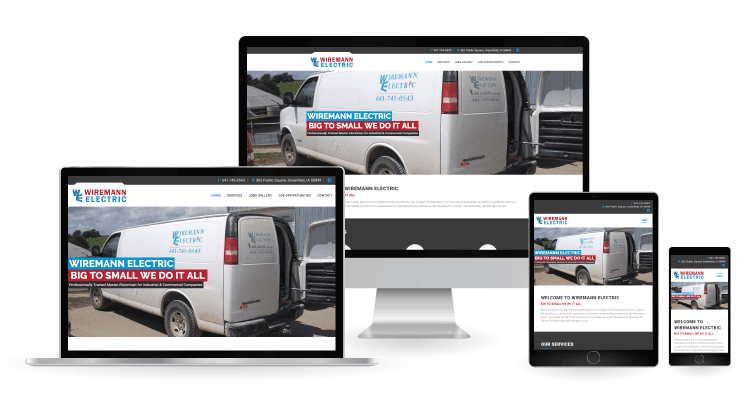 Wireman Electric Website