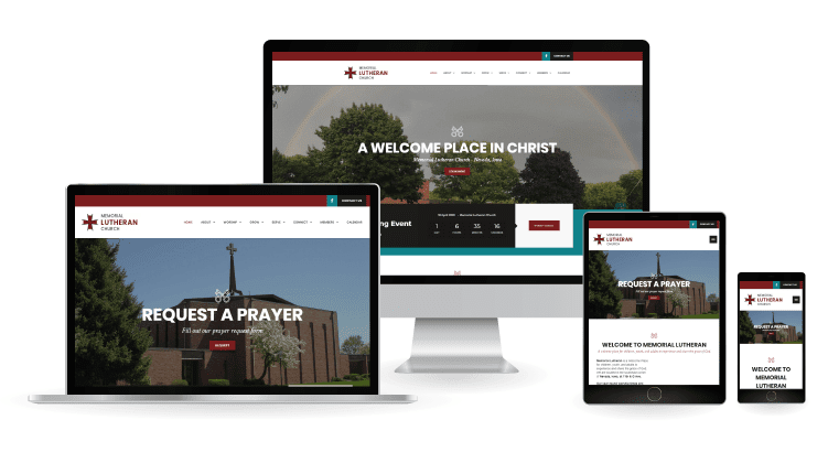 Memorial Lutheran Web Design